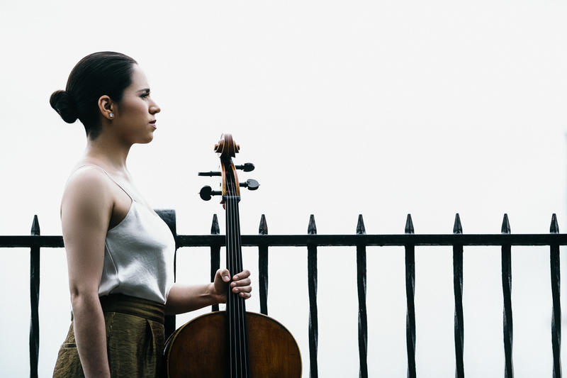 Cellist Christine Lamprea