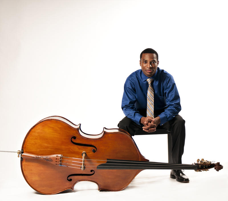 Double-Bassist and Composer Xavier Foley