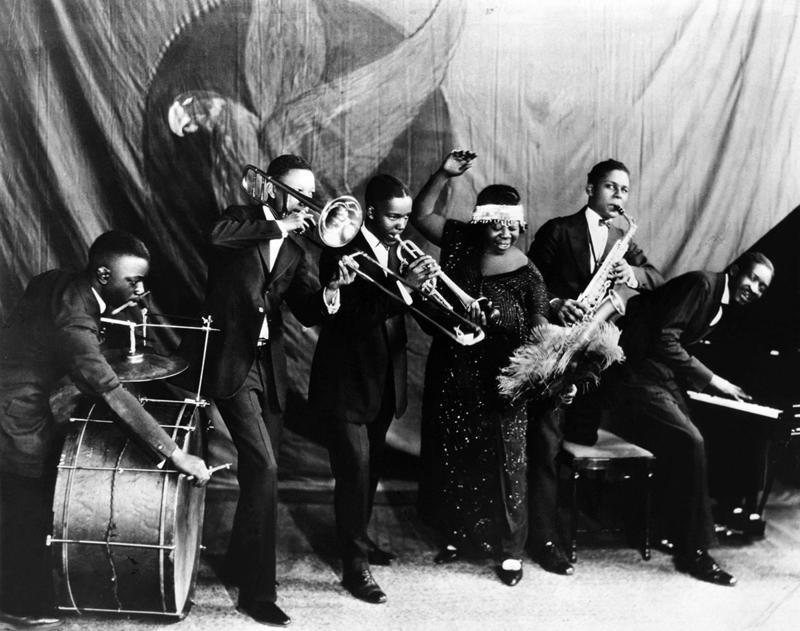 Ma Rainey Georgia Jazz Band in 1924