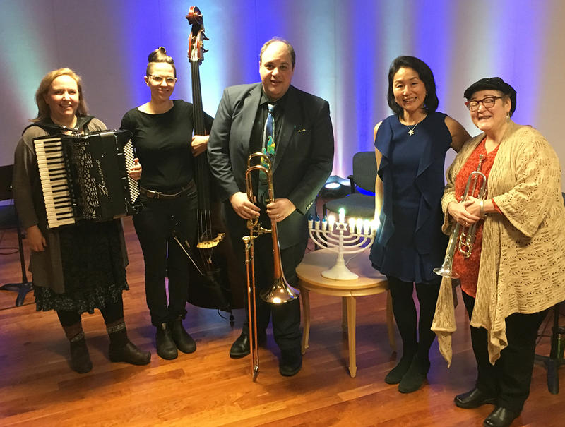 Dan Blacksberg and the All-Star Klezmer Ensemble with WRTI's Debra Lew Harder