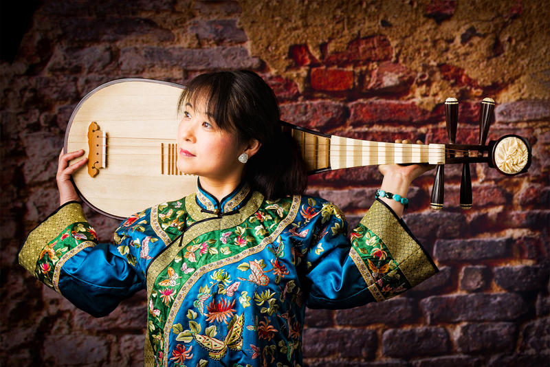 Born in Hangzhou, China, Wu Man studied at the Central Conservatory of Music in Beijing, where she became the first recipient of a master's degree in Pipa.