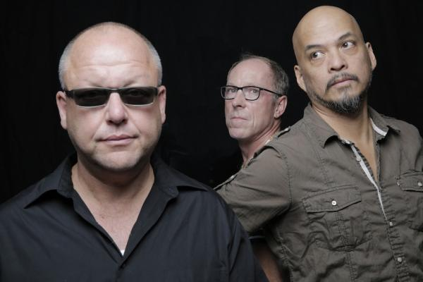 Pixies' Black Francis, David Lovering, and Joey Santiago