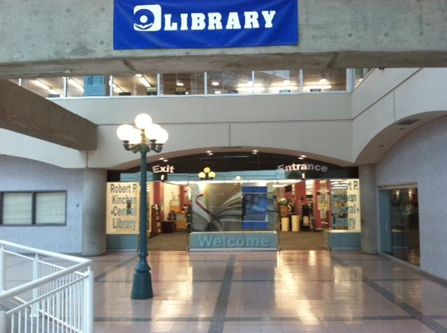 Onondaga County Central Library in Syracuse