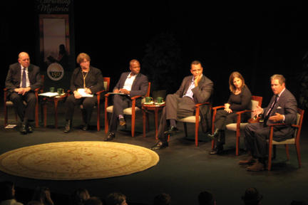 Panelists at the Dr. Lewis B O'Donnell Media Summit