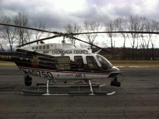 Onondaga County's Air One helicopter