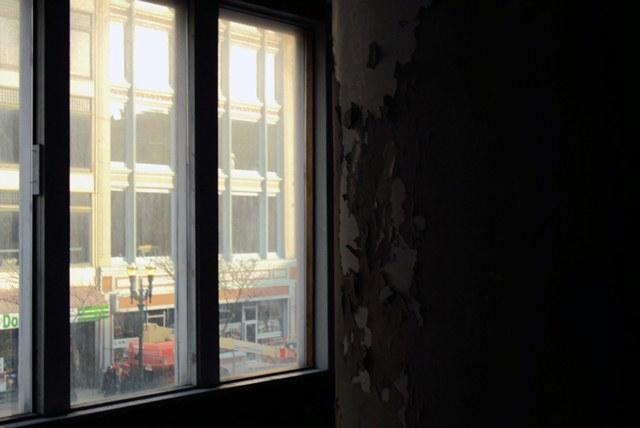 A view from inside the Pike Block project on South Salina Street in Syracuse. The Downtown Committee highlighted it as one of several projects underway downtown.