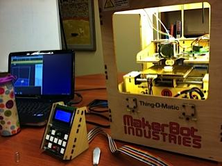 Fayetteville Library's Makerbot
