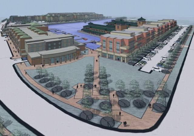 COR Development has proposed a $350 million project for the Inner Harbor that includes a hotel.