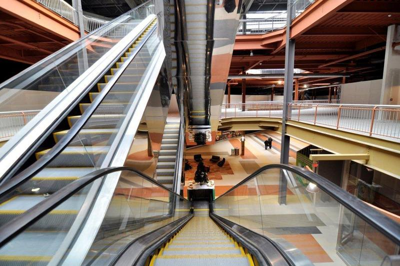 Inside the expansion of the Destiny USA mall, set to officially open Aug. 2.