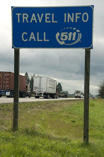 Some states, like Oregon, already use the 511 system to monitor road delays.