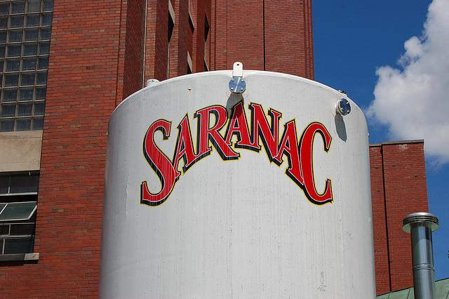 Saranac is brewed and bottled in Utica, NY.