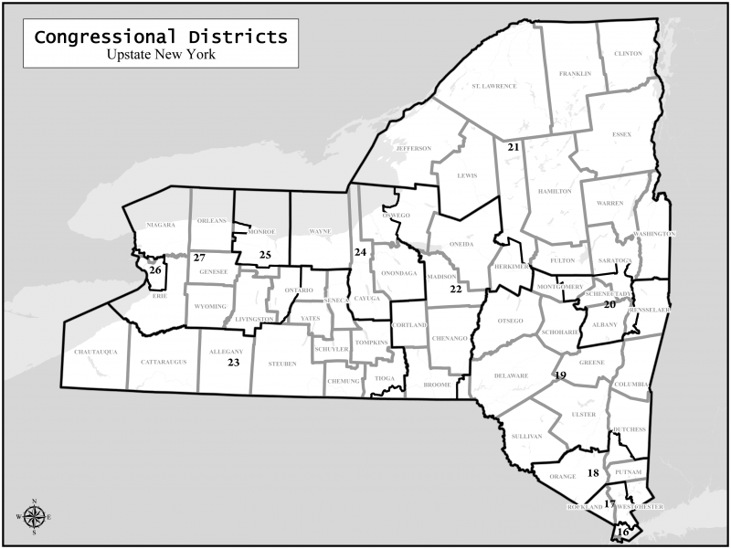 New York State Congressional Map