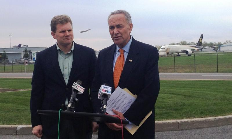 U.S. Senator Charles Schumer endorsed Dan Maffei on Wednesday.