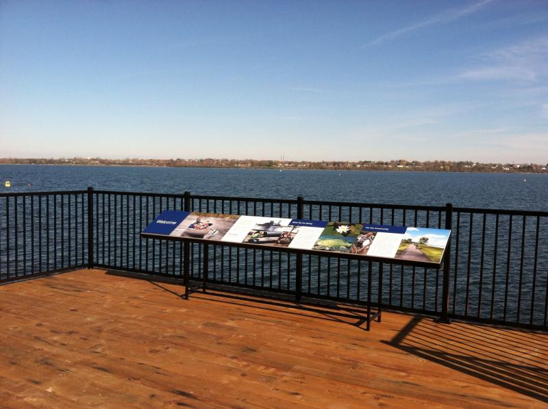 View from Onondaga Lake visitor center