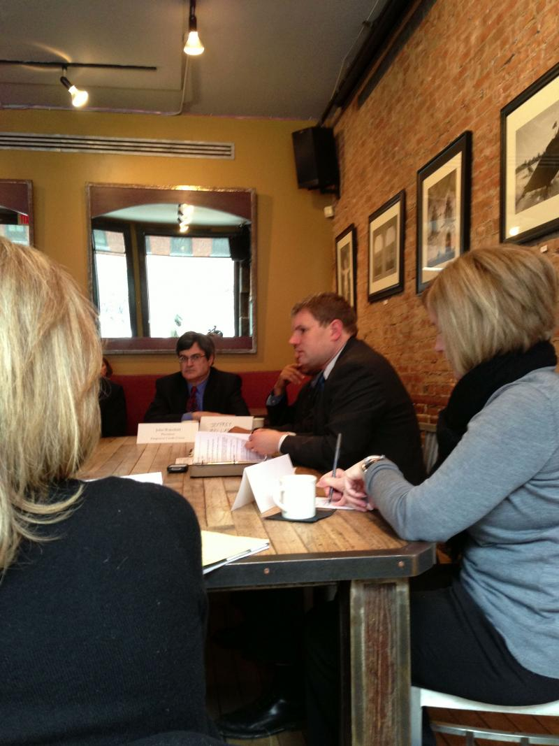 Rep. Dan Maffei holds listening tour event at restaurant in downtown Syracuse