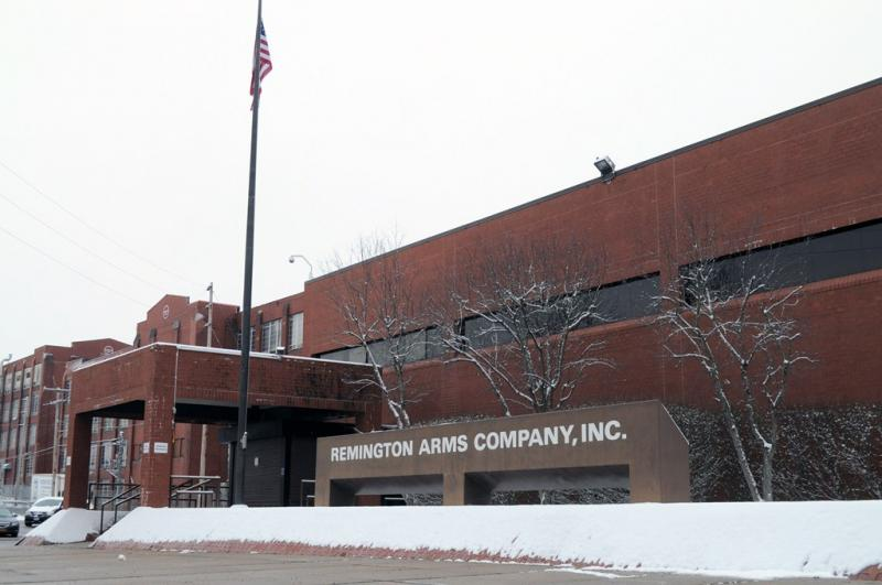 The Remington Arms plant in Ilion, N.Y.