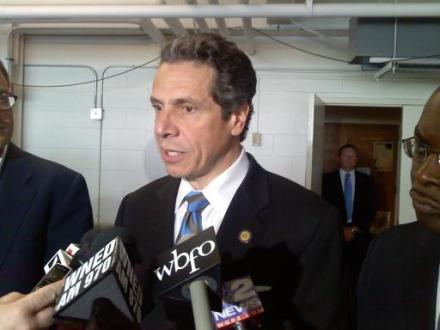 Gov. Andrew Cuomo in western New York