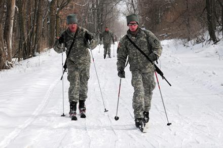 Fort Drum sits on more that 107,000 acres in northern New York.