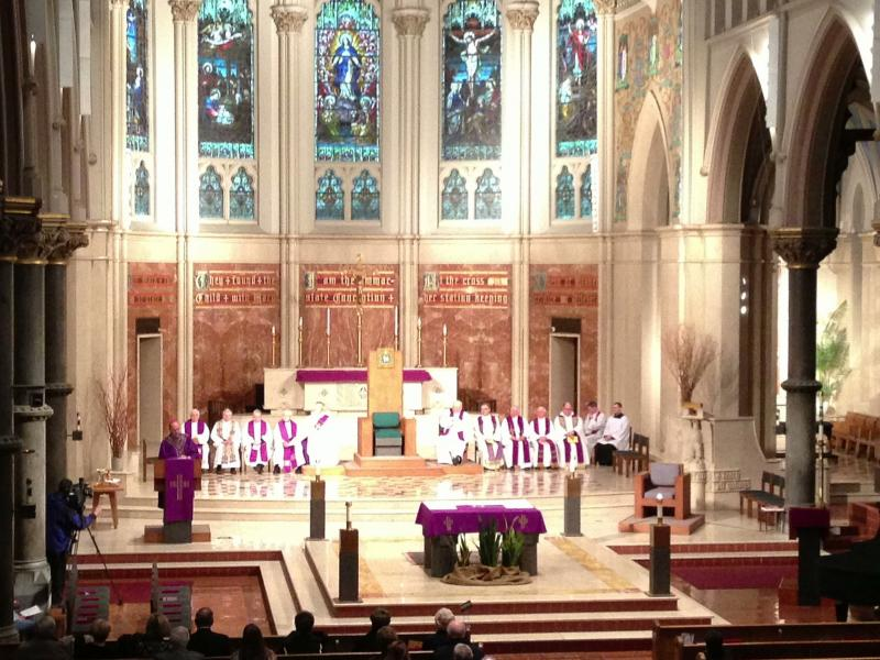 Mass of Thanksgiving held Thursday at the Cathedral of the Immaculate Conception in Syracuse