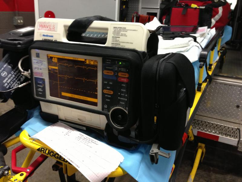 This kind of 12-lead electrocardiogram modem will be put in 37 ambulances in central New YOrk