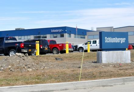 Schlumberger's gasfield services facility in Horseheads, just outside of Elmira.