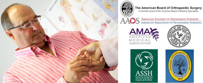 Orthopedic hand specialist, John F. Fatti, M.D.