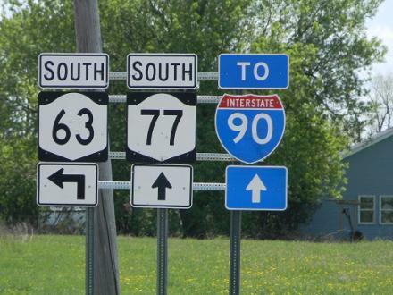 Alabama NY, at the crossroads