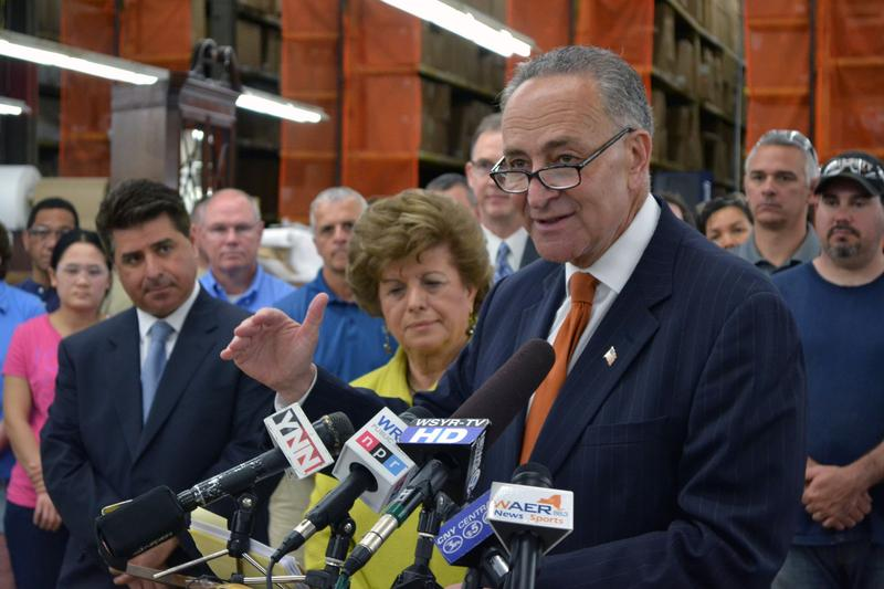 U.S. Sen. Charles Schumer (D-N.Y.) wants better enforcement of furniture dumping on Chinese manufacturers.