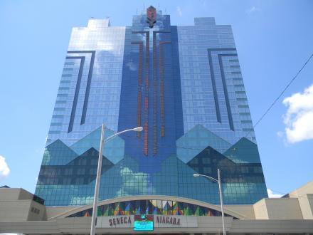 The Seneca Niagara Casino is one of three casinos from which Indian nations are withholding revenues earmarked for local governments.