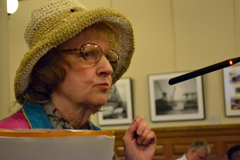 Arleen Fordock told the Syracuse Common Council I-81 should be rebuilt through downtown, but wider.