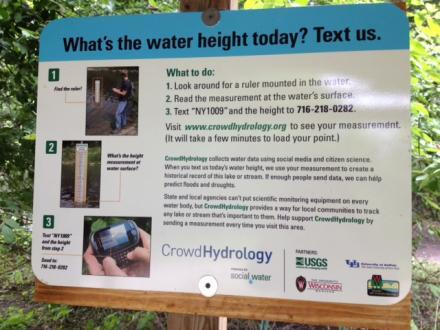 "Instructions for ""CrowdHydrology"""