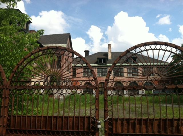 The Roosevelt Elementary School in Utica has been vacant for two decades and may need to be torn down.