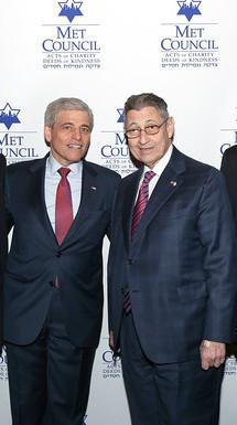 William Rapfogel (left), was fired from the Metropolitan Council on Jewish Poverty and is facing a criminal probe from the New York Attorney General's office.
