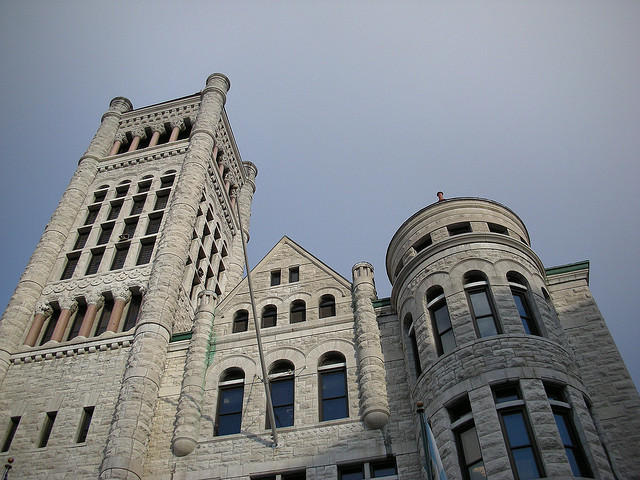 A view of Syracuse's city hall.