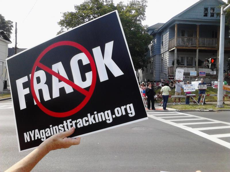 Some of the fracking signs are familiar to upstate New Yorkers.