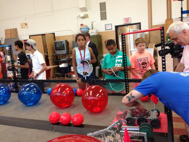 The robotics competition