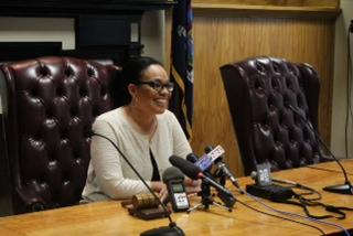 Syracuse City School District Superintendent Sharon Contreras.