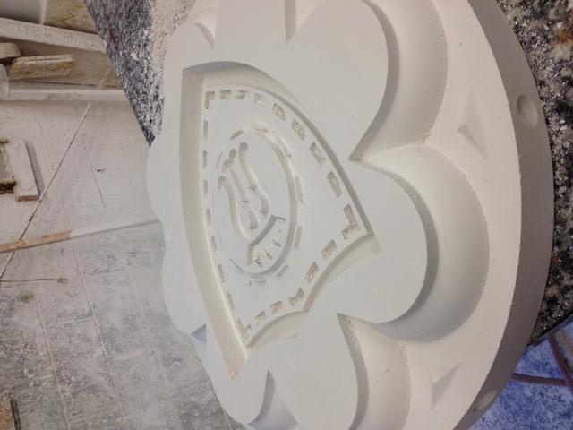 Terracotta design.