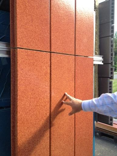 Boston Valley Terra Cotta's rain screen product.