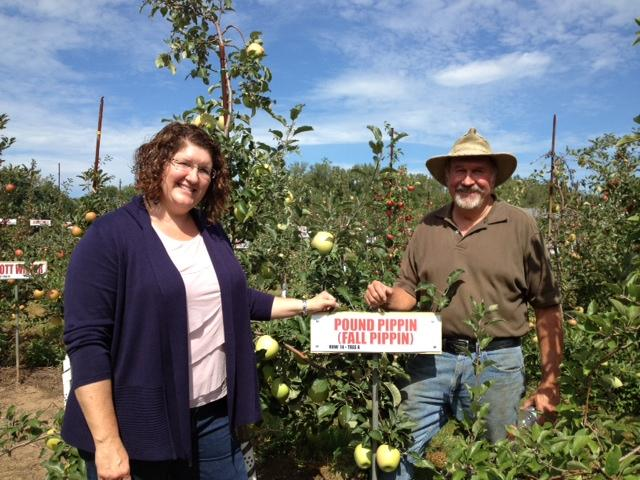 Wendy Oakes-Wilson and Darrell Oakes operate LynOaken Farms.