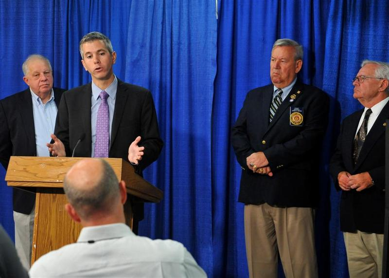 Assemblyman Anthony Brindisi (D-Utica) discusses gas station regulations