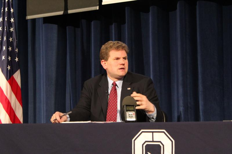 Rep. Dan Maffei (D-NY) at the OCC town hall meeting Monday night