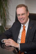 Incoming Syracuse University Chancellor Kent Syverud