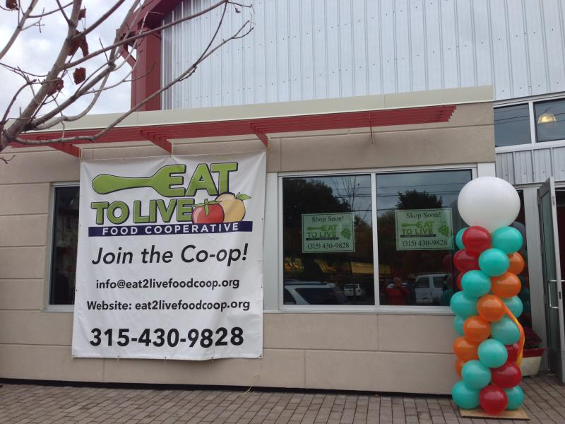 The Eat to Live Food Co-op on South Salina Street.
