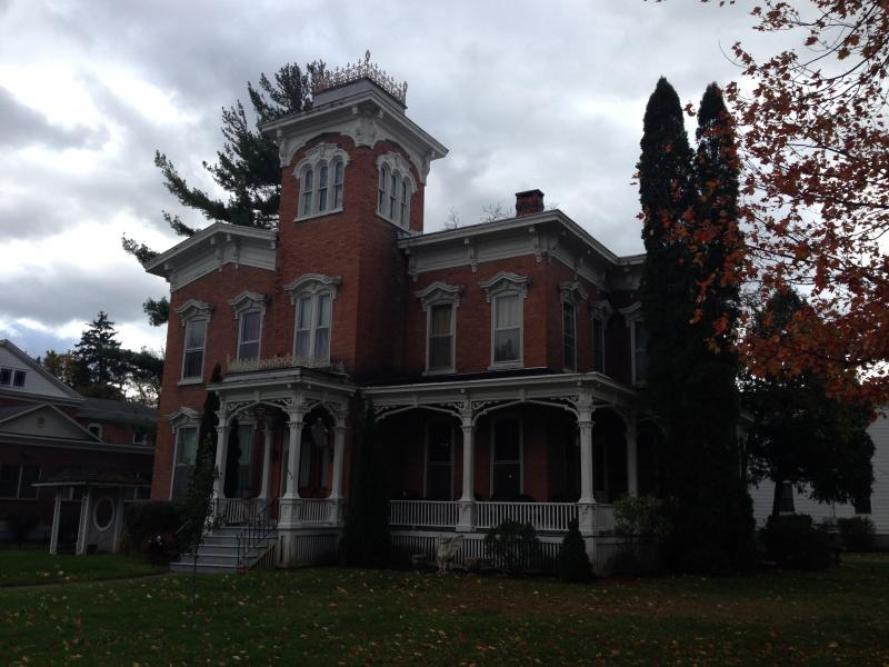 The Farnam Mansion was built more than 150 years ago.