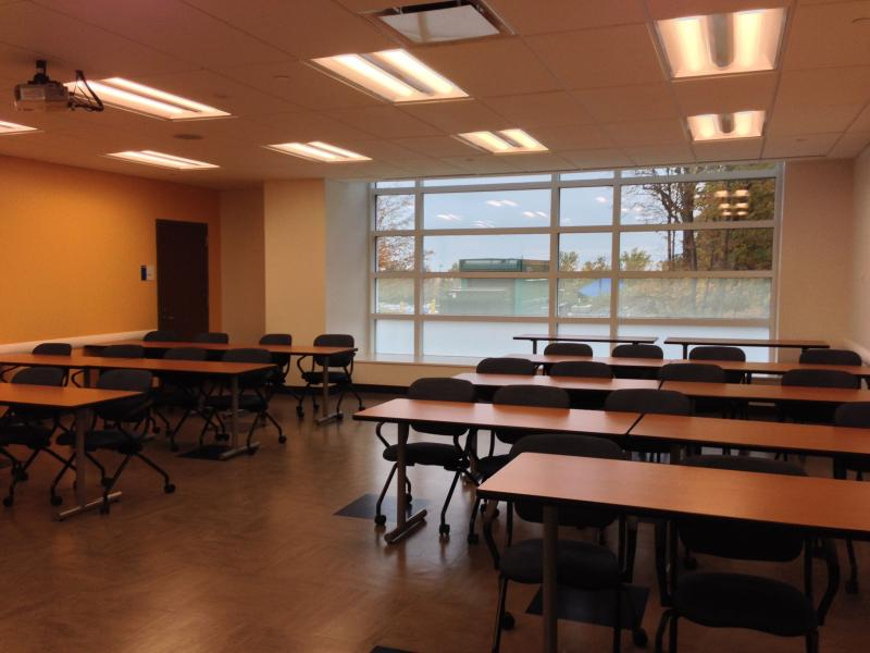 A classroom inside Academic II on the OCC campus