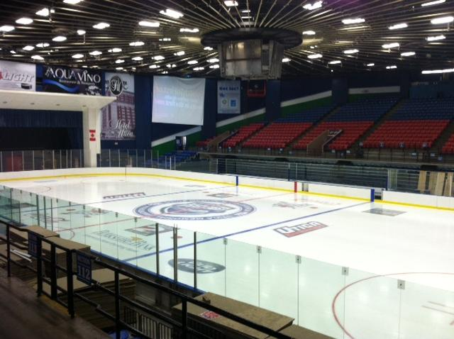 The Utica Memorial Auditorium has undergone renovations to support the Comets.