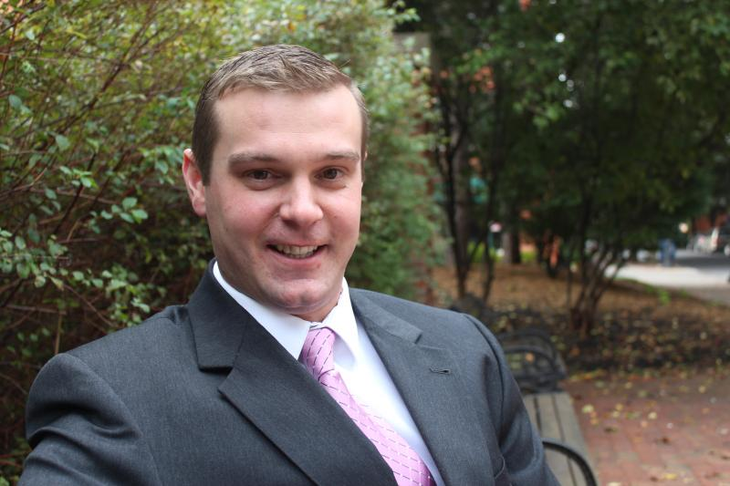 Alex Walsh, 25, is running for Syracuse's 2nd district Common Council seat.