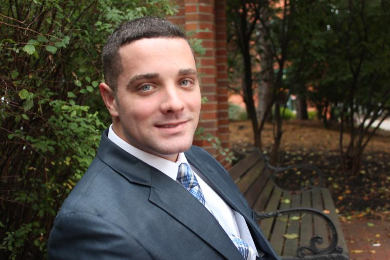 Chad Ryan, 28, is running for Syracuse's 2nd district Common Council seat.