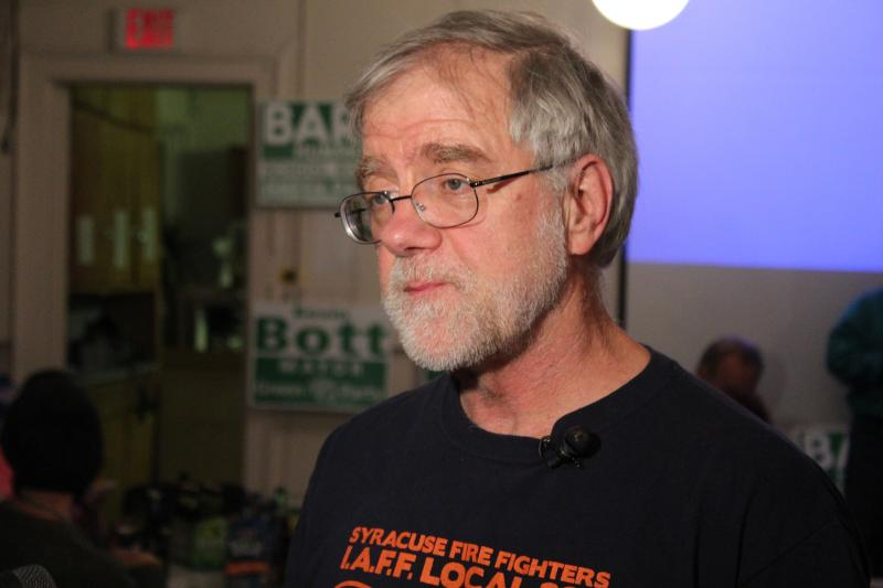 Green Party candidate Howie Hawkins lost in his race to unseat Democratic incumbent Khalid Bey.